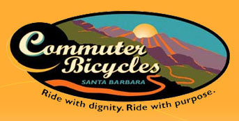 Commuter Bicycles, Santa Barbara, California, USA